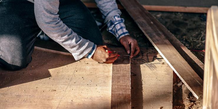 Timmer -en schrijnwerkerij